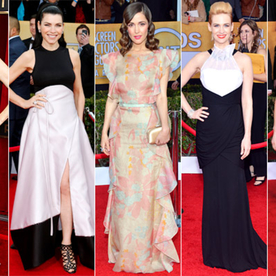 """Rose Byrne at the SAG Awards: """"I Feel Like a Fish Out of Water!"""""""