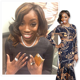 Grammys: Getting Ready With Estelle!