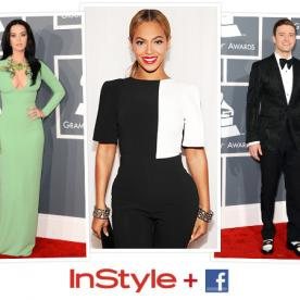 The Most Buzzed-About Grammy Moments: The InStyle and Facebook Red Carpet Talk Meter Results Are In!