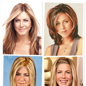 Happy 44th Birthday Jennifer Aniston! Try on Her Hairstyles