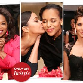 Oprah, Halle, Zoe Celebrate Women at Alfre Woodard's Private Dinner: See the Exclusive Photos!