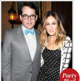 The Week's Parties: Sarah Jessica Parker and Matthew Broderick Support Emerging Playwrights, and More!