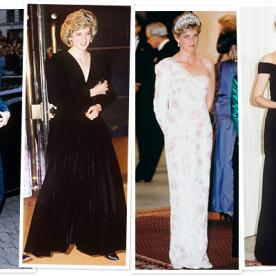 Our Four Favorite Princess Diana Dresses: A Closer Look!