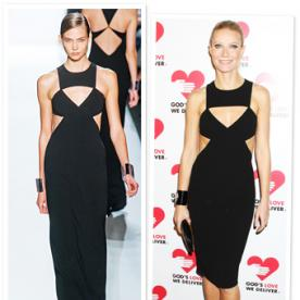 What You Can Learn from Gwyneth Paltrow's Cut-Out Dress (Yes, It Can Be Done!)
