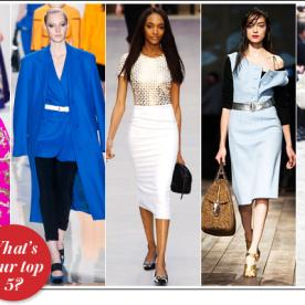 We've Picked Our Favorite Looks from Fashion Week, Now You Pick Yours!
