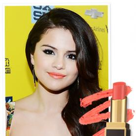 Found It! Selena Gomez's Creamsicle Orange Lipstick