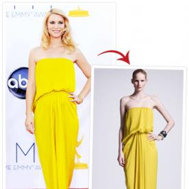 You Can Have Your Own Real-Life Emmys Moment in Claire Danes' Lanvin Dress, On Sale at Neiman Marcus