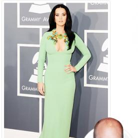 """Katy Perry's Stylist Still Loves Her Grammys Dress: """"We Took That Memo with a Grain of Salt"""""""