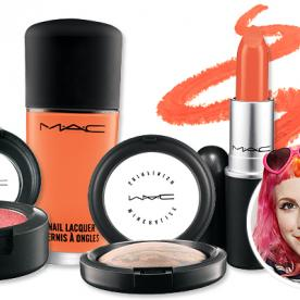 Orange You Glad Hayley Williams of Paramore's MAC Collection Is in Stores Today?