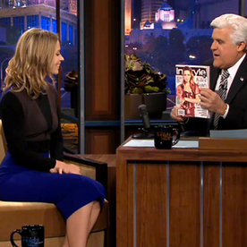 May Cover Girl Emily Blunt Gives InStyle a Shout Out on the Tonight Show