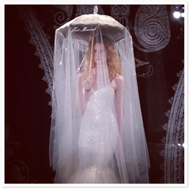 The Prettiest Accessory at Bridal Fashion Week