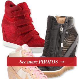 Wedge Sneakers Are Still Having a Moment: 13 Pairs You'll Love