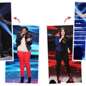 Who Had the Most Dramatic American Idol Makeover: Candice or Kree?
