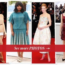 Cannes Film Festival Fashion Photos Update: Octavia Spencer, Emma Watson, and More