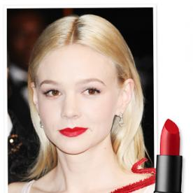 Found It! Carey Mulligan's Really Red Lipstick from Cannes