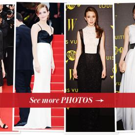 Cannes Film Festival 2013 Fashion Photos Update: The Bling Ring With Emma Watson and More