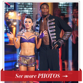 Dancing With The Stars Costumes Jacoby Jones And Karina