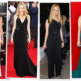 Heather Graham's Red Carpet Fashion Show for The Hangover Part III