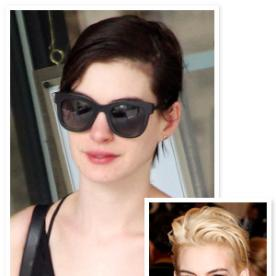That Was Fast! Anne Hathaway's Back to Brunette