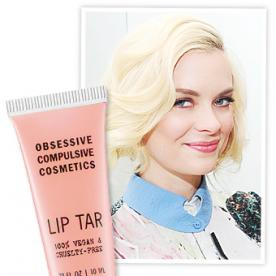 Found It! Jaime King's Vegan Peachy Pink Lipstick