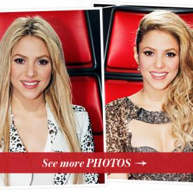 Learn How to Get Shakira's Two Hairstyles from this Week's The Voice