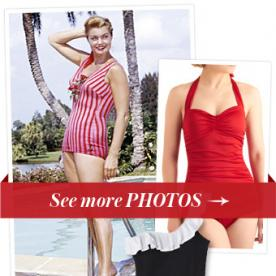 A Tribute to America's Mermaid: 7 Retro Swimsuits Inspired by Esther Williams