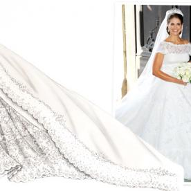 Valentino Designs Princess Madeleine of Sweden's Wedding Dress: All the Details
