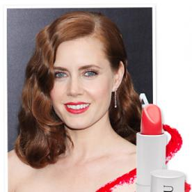 Found It! Amy Adams' Super-Red Lipstick From the Man of Steel Premiere