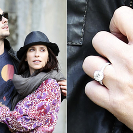 Jennifer Love Hewitt's Engagement Ring: A Big Photo for a Big Rock