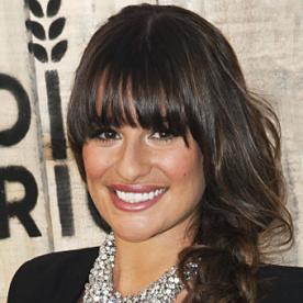 Get the Look: Lea Michele's Tousled Braid