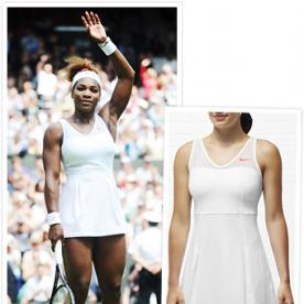 Wimbledon Fashion: Get Serena Williams' Bold White Nike Dress