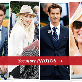 Wimbledon 2013 Celebrity Fans: Eddie Redmayne, Maria Sharapova, and More