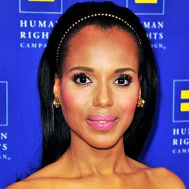 Surprise Wedding! Kerry Washington Married Football Star Nnamdi Asomugha
