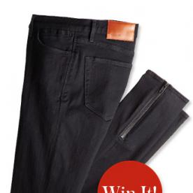 Only One Day Left! Tweet @InStyle to Win a Pair of Madewell Jeans