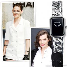 Celebrities Love: Chanel's Relaunched Premiere Watch