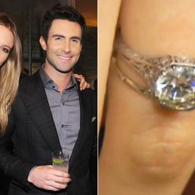 Behati Prinsloo's Engagement Ring: See the Photo