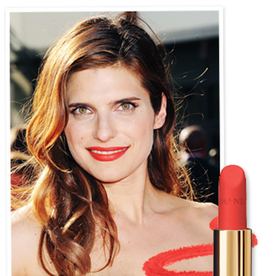 Found It! Lake Bell's Tangerine Lipstick