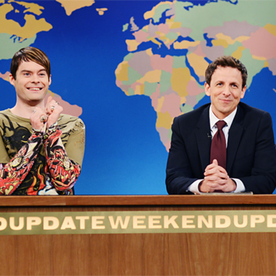 Bill Hader Got an Emmy Nomination! Where Would Stefon Celebrate?