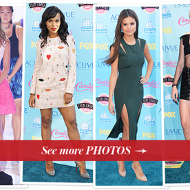Teen Choice Awards 2013: Lea Michele and the Glee Cast Remember Cory Monteith, Plus What Everyone Wore