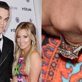 Big Photo for a Big Rock: Ashley Tisdale's Engagement Ring