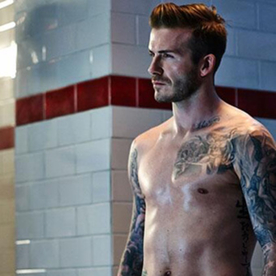 Happy Monday, Indeed: David Beckham's Abs on Full Display for New H&M Ad Campaign