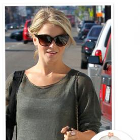 Found It! Julianne Hough's Rose Gold Ring