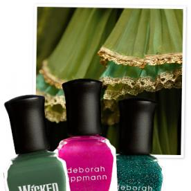 Now This Is 'Wicked' Cool -- Deborah Lippmann Creates a Nail Polish Trio Inspired by The Broadway Musical