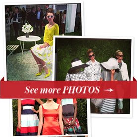 Kate Spade Spring 2014: We Want To Live in This Perma-Garden Party