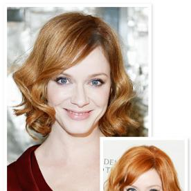 Christina Hendricks Debuted a (Subtle) Blonde 'Do At Zac Posen