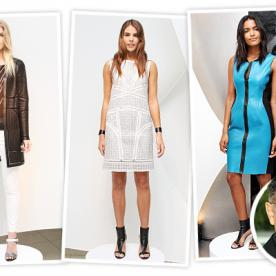 Elie Tahari Celebrates 40 Years With a Silicon Valley-Inspired Spring 2014 Collection