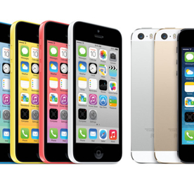Finally, Your Phone Can Match Your Outfit With Apple's New iPhone 5C and 5S Models!