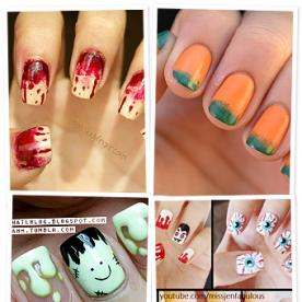 It's Friday the 13th! Get In the Spirit With Some Scary Good Nail Art