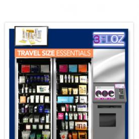 Thanks to 3FLOZ's Beauty Vending Machines, You'll Never Lose Your Products to the TSA Again!