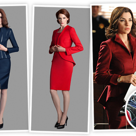 Love Alicia Florrick's Looks on The Good Wife? You'll Love Costume Designer Daniel Lawson's New Line 35·DL, Coming This Spring